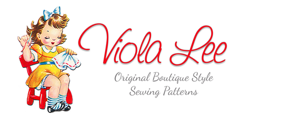 Viola Lee Patterns The Easiest PDF Downloadable Sewing Patterns for Children!