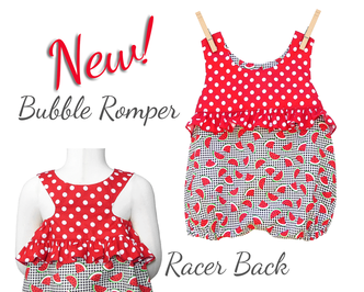 Baby bubble romper pattern
